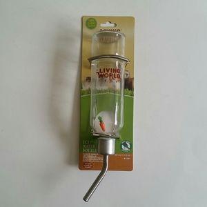 Small pet water bottle
